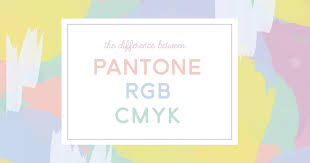 what u0027s the difference between pantone cmyk and rgb colors