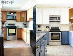white kitchen cabinets with blue tiles blue white two tone kitchen reveal houseful of handmade