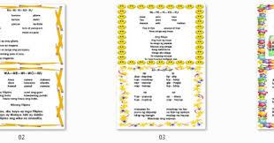 instructional materials filipino reading charts u0026 posters deped