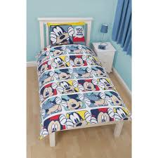disney mickey u0026 his friends reversible bed linen great