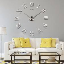 mirror stickers roman style design diy interior home decoration mirror stickers roman style design diy interior home decoration eva hanging wall clock art