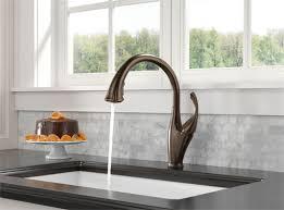delta touch20 kitchen faucet delta 9192t rb dst single handle pull kitchen faucet