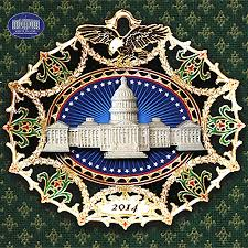 2014 white house ornament rainforest islands ferry