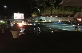 Backyard Movie Night Rental Portable Movie Screen Rental Company Outdoor Cinema Long Island Ny