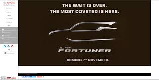 toyota global website scoop next gen toyota fortuner spotted edit preview on page 14