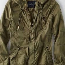American Eagle Parka Aeo Women U0027s Light Swing Jacket Olive From American Eagle