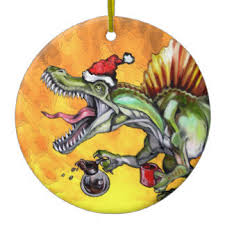 spinosaurus ornaments keepsake ornaments zazzle