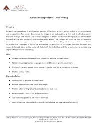 Business Letter Forms by Sample Correspondence Business Letter The Letter Sample