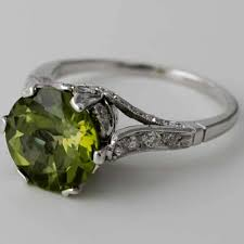 peridot engagement ring fay cullen archives rings antique peridot engagement ring