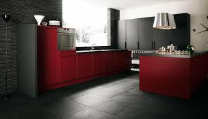 Kitchen Tile Design Red And Black Kitchen Design Ideas Red Wall Kitchen Ideas Red And