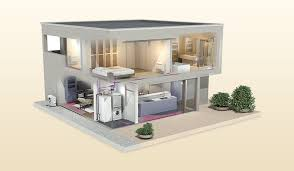 air to water heat pump systems economical heating as well as