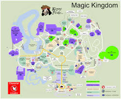 Printable Map Of Disney World by Kennythepirate U0027s Magic Kingdom Map Including Fastpass Plus