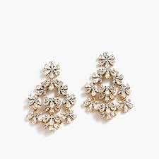 chandelier earrings floral chandelier earrings women earrings j crew