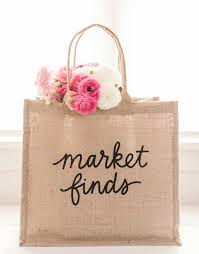 fair trade large shopping bag market finds the little market