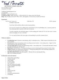 Technical Writing Resume Sample by Creative Writing Resume Free Resume Example And Writing Download