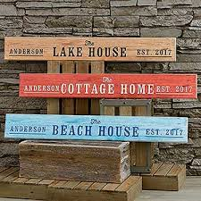 Personalized Wood Signs Home Decor Personalized Wooden Sign Home Away From Home
