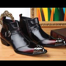 womens style boots size 11 2015 arrival us size 5 11 style leather formal dress mens