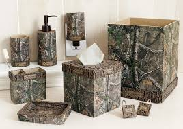 Shell Bathroom Accessories by Realtree Camo Bath Decor Realtree Xtra Camo Bath Accessories Camo