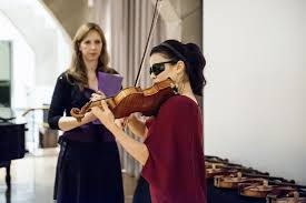 Blind Violinist Famous Stradivarius The End Of The Legend
