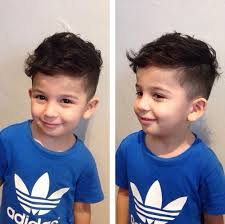 little boy haircuts long on top short in back best ideas about