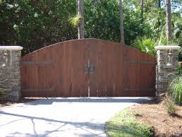 arched wood gate ironside san diego