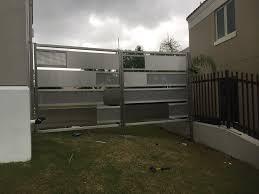 stainless steel gate my work 2 pinterest steel gate doors
