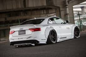 liberty walk hellcat liberty walk gives the audi a5 more stance
