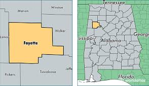 alabama zone map fayette county alabama map of fayette county al where is