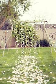 wedding arch backdrop 47 dreamy and backyard wedding backdrops and arches