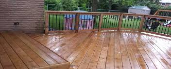 compare how much a wood vs composite deck costs in 2017 pros vs cons