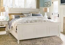 Bedroom Furniture Sets White Furniture Summer Hill 4pc Panel Bedroom Set In Cotton Code Univ20