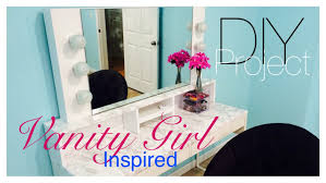 Makeup Vanity With Lights Diy Vanity Mirror With Lights Part 1 Youtube
