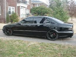 mercedes s500 amg for sale sell used 2002 mercedes s500 air bag suspension blacked out