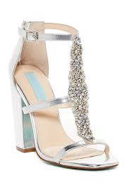 betsey johnson lydia satin open toe sandal hautelook