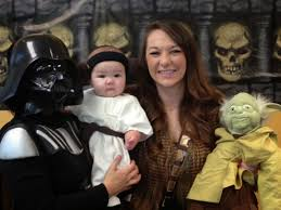 san diego hr mom happy halloween ladybug and princess leia costumes