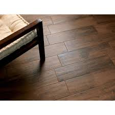 Tile Floor And Decor by Tabula Cappuccino Wood Plank Porcelain Tile 6in X 40in
