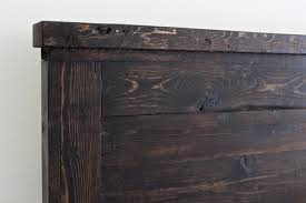 King Headboard by White Reclaimed Wood Headboard Cal King Diy Projects