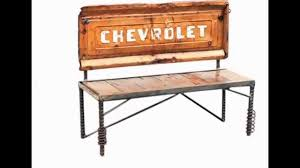metal wood furniture tailgate bench by raymond guest youtube