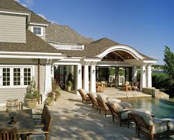 Pool Ideas For Small Backyards Exterior Elegance Outdoor Patio Design Together With White