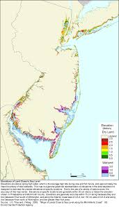 New Jersey Map More Sea Level Rise Planning Maps Likelihood Of Shore Protection
