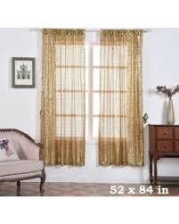 84 Inch Curtains Don T Miss This Deal On Balsacircle 52 X 84 Inch Sequined Curtains