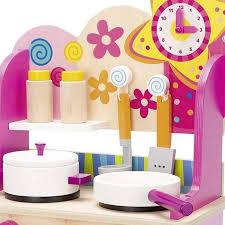 accessoires cuisine enfant cuisine en bois pour enfant avec accessoires