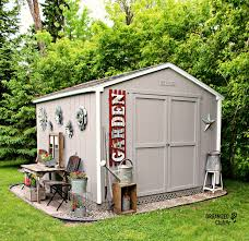 late last summer i purchased a princeton 10 u0027 x 10 u0027 shed kit from