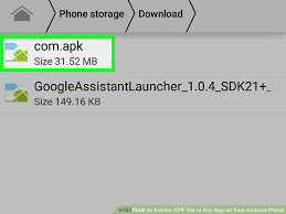 where are apk files stored how to extract apk file of any app on your android phone
