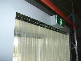 stripflex pvc strip curtains max doors