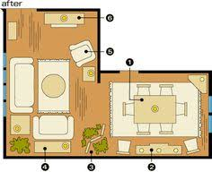 Dining Room Furniture Layout Furniture Layout For My Split Level Living Room Whispering Woods