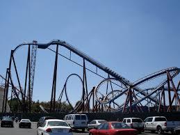 Goldrusher Six Flags Magic Mountain Scream Six Flags Magic Mountain U2013 Wikipedia