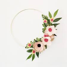 flower wreath rifle paper co inspired wreath wreaths flower wreath