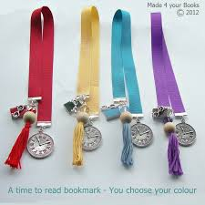 ribbon bookmarks a time to read handmade ribbon bookmark you c folksy