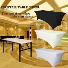 aliexpress com buy rectangular table cover spandex fabric